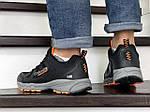 Чоловічі кросівки Columbia Montrail (чорно-сірі з помаранчевим), фото 2