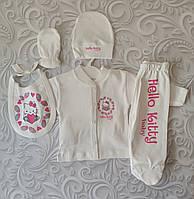 Набор Hello Kitty baby для новорожденного, 5 предметов