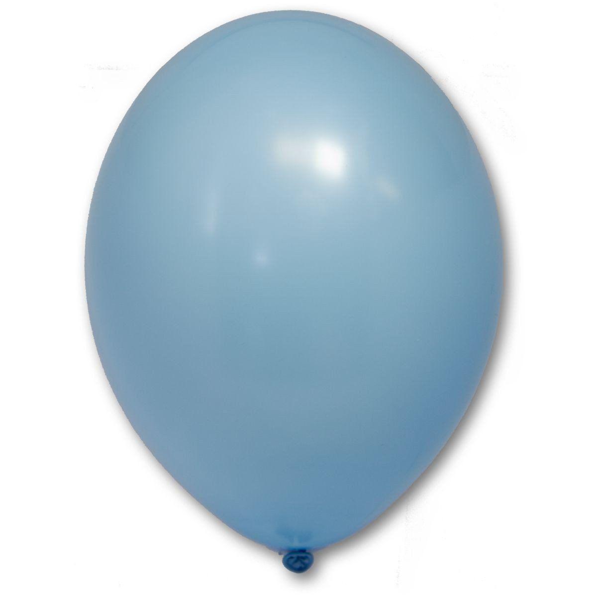 """Латексна кулька блакитна пастель В85/003/ 10"""" Belbal"""