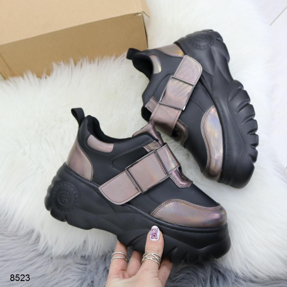 Кроссовки ботинки женские на платформе