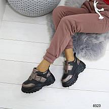 Кроссовки ботинки женские на платформе, фото 2