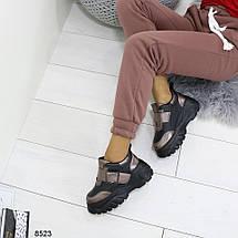 Кроссовки ботинки женские на платформе, фото 3
