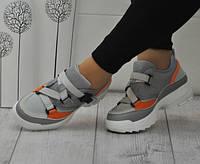 Стильные женские кроссовки серые 36=23 см 37=23,5 см 38=24 см 39=24,5 см
