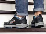 Мужские кроссовки Columbia Montrail (серо-черные с синим), фото 2