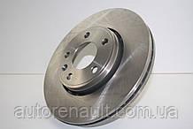 Тормозной диск передний на Рено Трафик 01> DENCKERMANN (Польша) B130453
