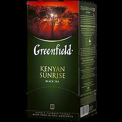 "Чай пакетированный чёрный  Greenfield ""Kenyan Sunrise"" 25шт"