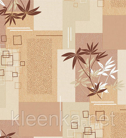 Скатерть клеёнчатая на стол Люкс абстракция, фото 2
