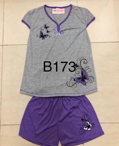 Пижама женская хлопковая размер батал 5XL-7XL (от 5 шт), фото 2
