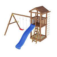 Деревянная детская площадка № 3