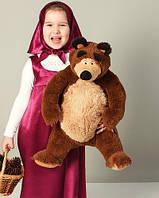 Мягкая игрушка плюшевый мишка из мультфильма Маша и медведь 80 см