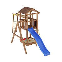 Деревянная детская площадка № 4