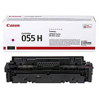 Заправка картриджа Canon 055H magenta для принтера i-sensys MF742Cdw, MF744Cdw, MF746Cx, LBP663Cdw, LBP664Cx