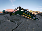 Погрузчик на трактор МТЗ, ЮМЗ, Т 40 Dellif Maxi 1000 с ковшом 2 м, фото 5
