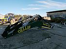 Погрузчик на трактор МТЗ, ЮМЗ, Т 40 Dellif Maxi 1000 с ковшом 2 м, фото 4
