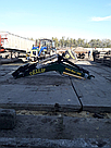 Фронтальный Погрузчик на трактор МТЗ,ЮМЗ, Т 40 КУН Dellif Maxi 1000 с ковшом 1.8 м, фото 2