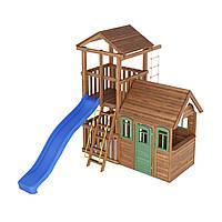 Деревянная детская площадка № 6