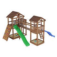 Деревянная детская площадка № 8