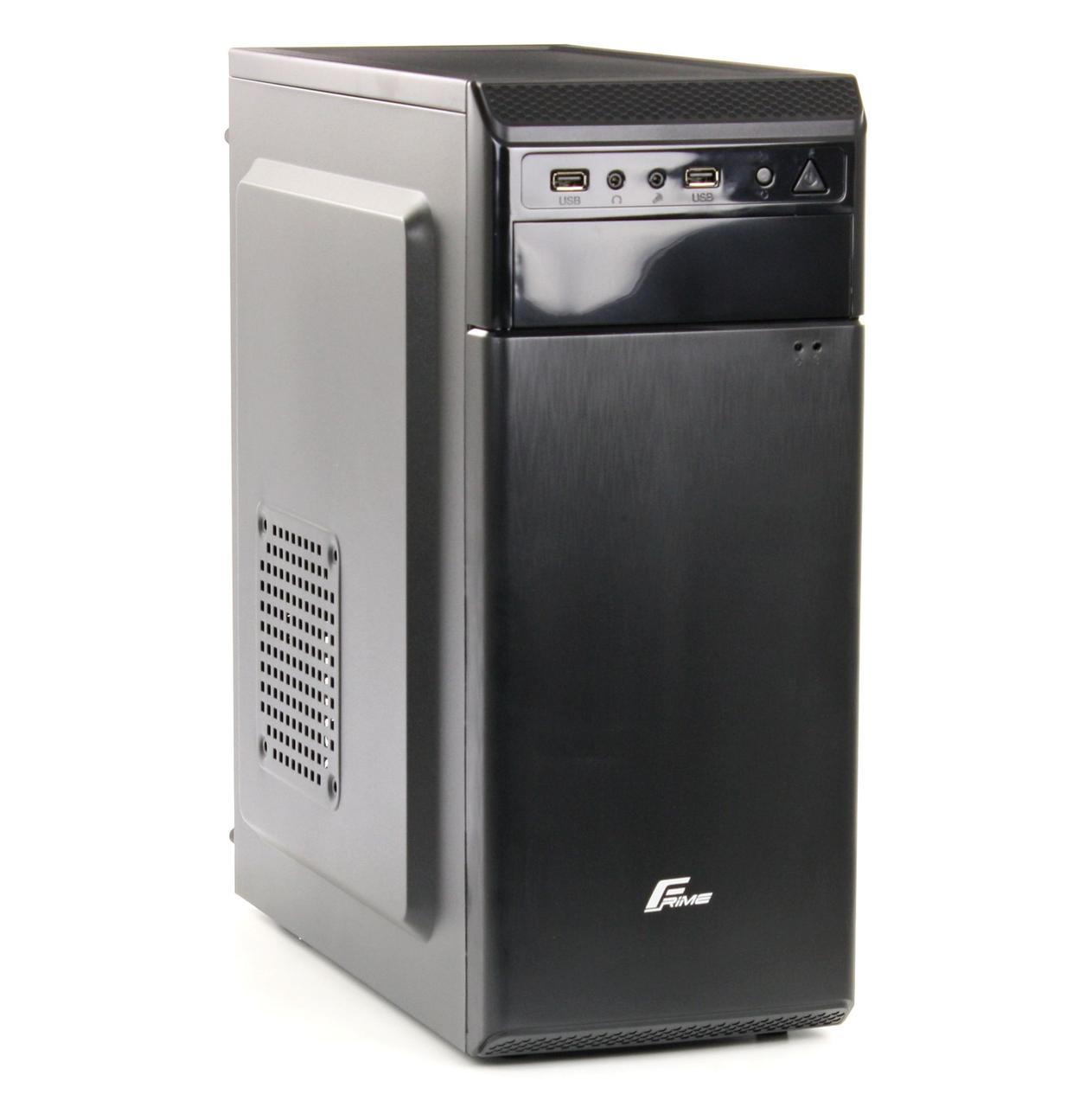 Корпус компьютерный Frime  FC-214B BLACK 2*USB ATX FPO-500-12C