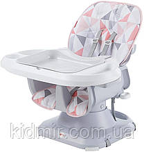 Бустер стульчик для кормления Комфорт Розовый Fisher Price SpaceSaver FLG98