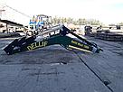 Погрузчик на трактор МТЗ ,ЮМЗ,Т 40  Dellif Maxi 1000 с сенажными вилами, фото 3