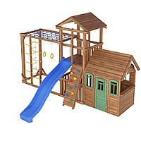 Деревянная детская площадка № 9