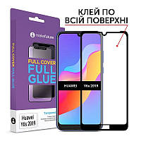 Защитное стекло MakeFuture для Huawei Y6s 2019 Black Full Glue, 0.33 mm (MGF-HUY6S19)