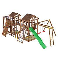 Деревянная детская площадка № 14
