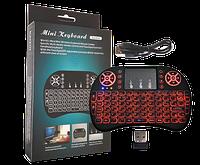 Клавиатура KEYBOARD wireless MWK08/i8 LED + touch  с подсветкой, фото 1