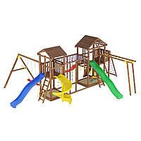 Деревянная детская площадка № 16