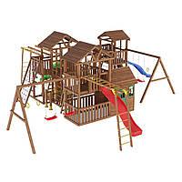 Деревянная детская площадка № 17