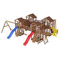 Деревянная детская площадка № 18