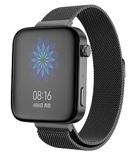 Міланський сітчастий ремінець Primolux для годин Xiaomi Mi Watch - Black