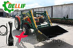 Минипогрузчик Dellif Baby 500 с джойстиком на мини трактор Dong Feng-244, Kata Ke 454