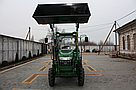Минипогрузчик Dellif Baby 500 с джойстиком на мини трактор Dong Feng-244, Kata Ke 454, фото 4