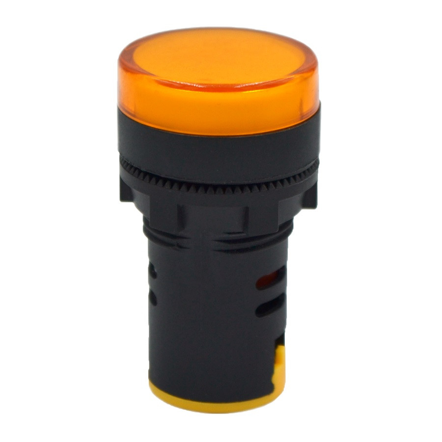 Лампа AD 22-22DS/Y, RZ, 220 В, жовта