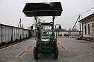 Мини погрузчик Dellif Baby 500 на мини трактор Kata Ke 454 с челюстным ковшом и джойстиком, фото 6
