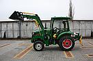Мини погрузчик Dellif Baby 500 на мини трактор Kata Ke 454 с ковшом 0.24 куба и джойстиком, фото 4