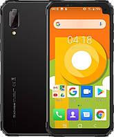 """Смартфон Blackview BV6100 3/16GB Dual Sim Grey (6931548305866); 6.88"""" (1352х640) IPS / MediaTek Helio A22 / ОЗУ 3 ГБ / 16 ГБ встроенной + microSD до"""