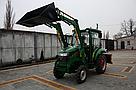 Мини погрузчик Dellif Baby 500 на мини трактор Kata Ke 454 ковш 0.22 куба и джойстик, фото 4