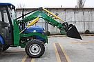Мини погрузчик Dellif Baby 500 на мини трактор Kata Ke 454 ковш 0.22 куба и джойстик, фото 8