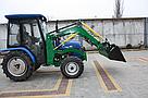 Мини погрузчик Dellif Baby 500 на мини трактор Kata Ke 454 ковш 0.22 куба и джойстик, фото 9
