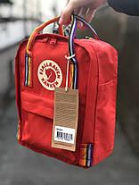 "Рюкзак Fjallraven Kanken mini ""Красный"", фото 3"