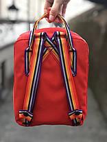 "Рюкзак Fjallraven Kanken mini ""Красный"", фото 2"