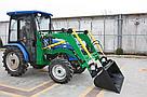 Мини-погрузчик Dellif Baby 500 на трактор DW-404 с джойстиком НОВИНКА, фото 6