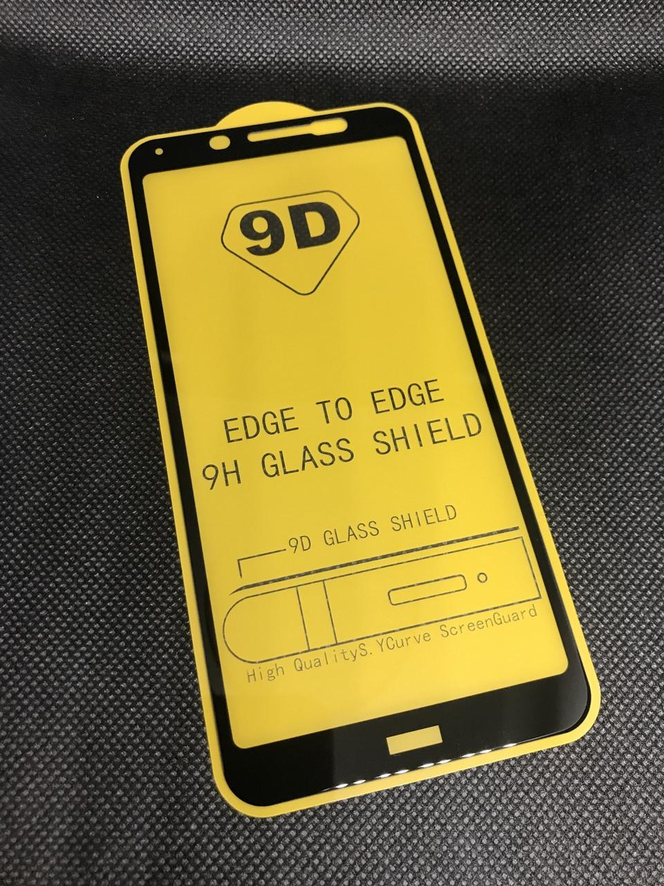 Защитное стекло для Xiaomi Redmi 7A полное покрытие Full Glue полный клей