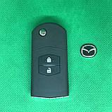 Корпус выкидного автоключа Mazda (Мазда) 2 кнопки, фото 3