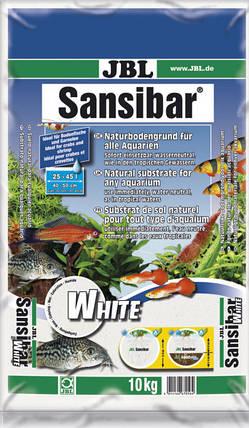 Пісок JBL Sansibar White 0.1-0.4 мм 10 кг Білий, фото 2