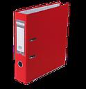 Папка-регистратор односторонняя LUX, JOBMAX, А4, ширина торца 70 мм, фото 7