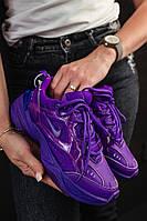 Женские кроссовки Nike m2k tekno фиолетового цвета