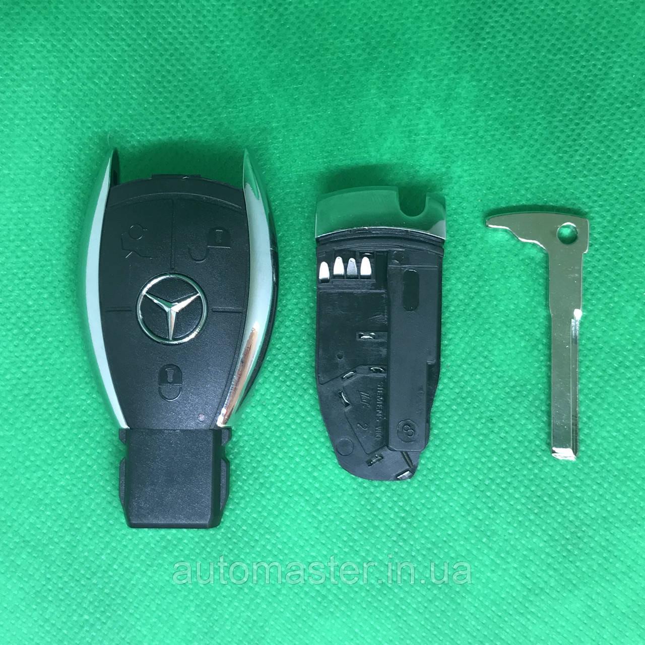 Корпус для смарт автоключа Мерседес MERCEDES (мерседес) 3 кнопки